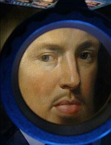 Portrait eines jungen Adeligen - Detail