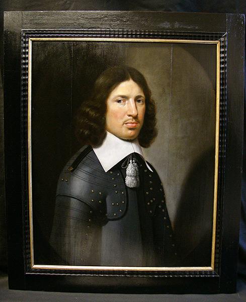 Portrait eines jungen Adeligen - Nach Reinigung
