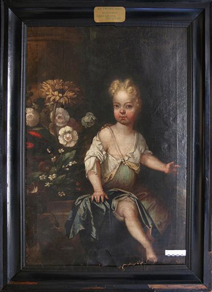 Sophie Antoinette Juliane von Sandhorst - Vor Restaurierung