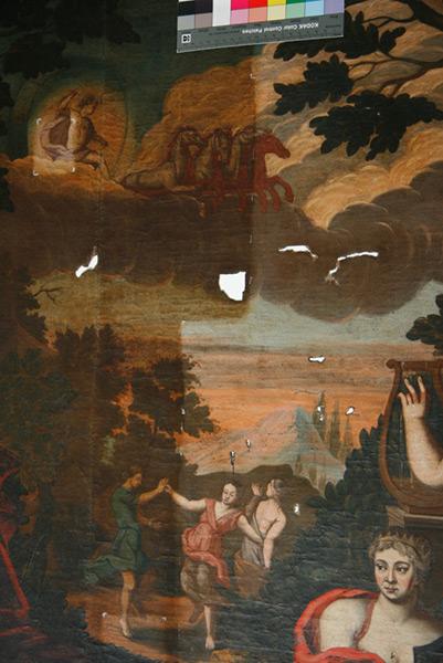 Allegorie auf Liebe - Detail