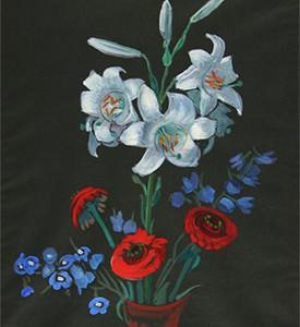 Gabrielle Münter - Blumenstillleben - Beitragsbild