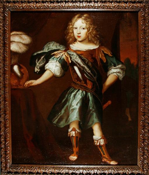 Portrait eines jungen Adeligen - Nach Restaurierung