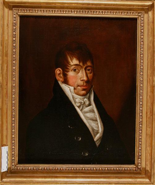 Portrait eines vornehmen Herren - Nach Restaurierung