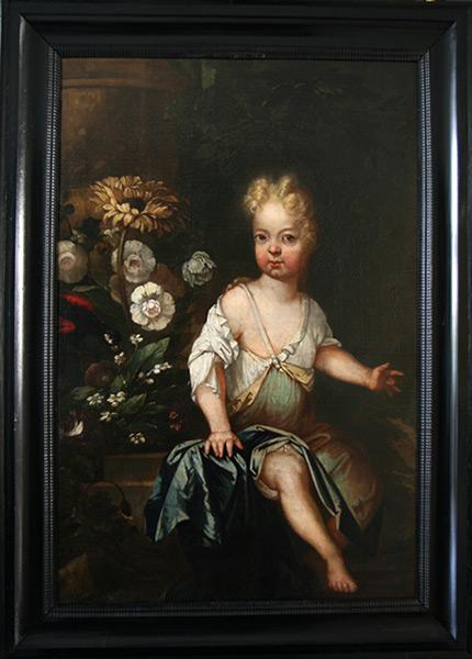 Sophie Antoinette Juliane von Sandhorst - Nach Restaurierung