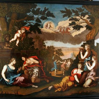 Allegorie auf Liebe - Nach Restaurierung